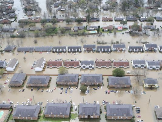 Bucket Drive for Louisiana Flood Victims