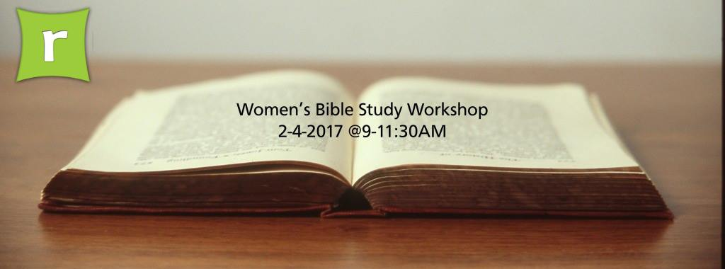 Bible Study Workshop for Ladies