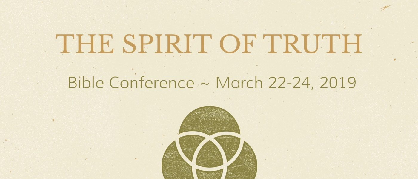 You're Invited to the Spirit of Truth Conference