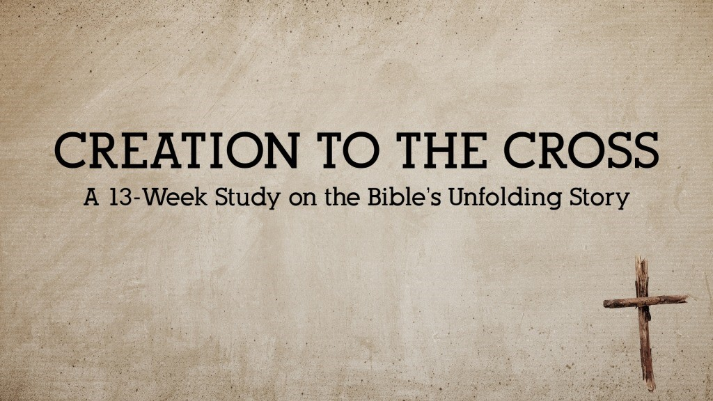 Creation to the Cross – A New Bible Study Coming Soon!